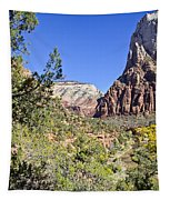 Virgin River View -zion Tapestry