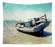 Waiting For The Tide Tapestry