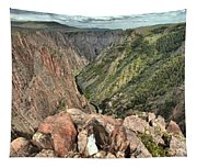 Walls Of The Black Canyon Tapestry