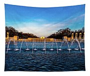 Washington D.c. - Fountains And World Tapestry
