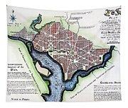 Washington, Dc, Plan, 1792 Tapestry