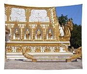 Wat Nong Bua East Side Of Main Stupa Base Dthu449 Tapestry
