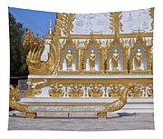 Wat Nong Bua West Side Of Main Stupa Base Dthu447 Tapestry