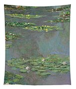 Water Lilies   Nympheas Tapestry