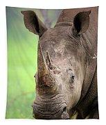 White Rhinoceros Tapestry