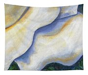 White Rose Two Panel Four Of Four Tapestry