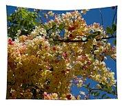 Wilhelmina Tenney Rainbow Shower Tree Tapestry