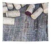 Wine Corks Tapestry