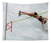 Womens Pole Vault 3 Tapestry