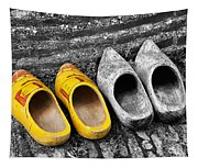 Wooden Shoes Tapestry