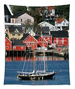 World Hertitage Designated Town On Tapestry