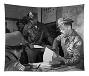 Wwii: Tuskegee Airmen, 1945 Tapestry
