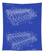 Xylophone Patent 1949 Tapestry