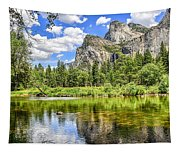 Yosemite Merced River Rafting Tapestry