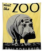 Zoo Poster C1936 Tapestry