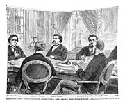 Johnson Impeachment, 1868 Tapestry