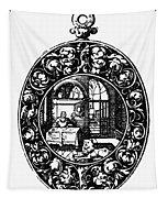 Pocket Watch, 19th Century Tapestry