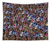 1000 Horses Tapestry