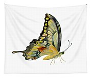 104 Perched Swallowtail Butterfly Tapestry