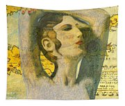 Ancient Cyprus Map And Aphrodite Tapestry