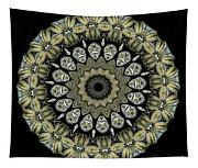 Kaleidoscope Ernst Haeckl Sea Life Series Tapestry