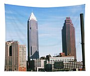 Skyscrapers In A City, Philadelphia Tapestry