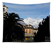 Alpine Village Tapestry