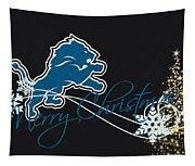 Detroit Lions Tapestry