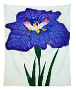 Japanese Flower Tapestry