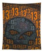 13 Skull Tapestry