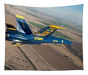 Blue Angel Tapestry