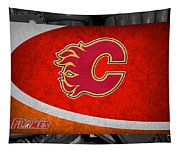 Calgary Flames Tapestry
