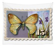 15 Cent Butterfly Stamp Tapestry