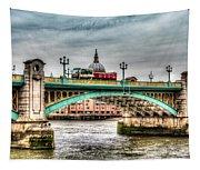 Southwark Bridge London Tapestry