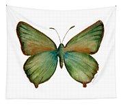 17 Green Hairstreak Butterfly Tapestry