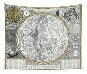 1700 Celestial Planisphere Tapestry