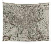 1745 Asia Map Tapestry
