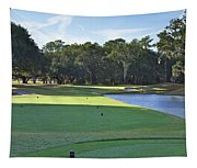 17th Tee Tapestry
