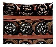 1861 Civil War Cannon Powder Magazine Tapestry