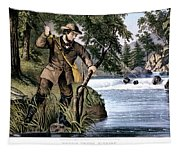 1870s Brook Trout Fishing - Currier & Tapestry