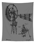 1889 Windmill Patent Tapestry