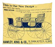 1898 - Hawley King And Company - Surrey Buggy Advertisement - Color Tapestry
