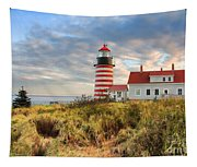 West Quoddy Head Lighthouse Tapestry