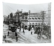 1900s Intersection Of Fair Oaks Tapestry