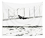 1902 Wright Brothers Glider Tests Tapestry