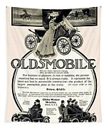 1904 - Oldsmobile Automobile Advertisement Tapestry