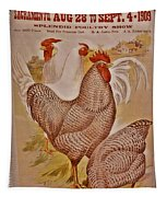1909 California State Fair Poster Tapestry