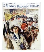 1910s 1912 Cover Sunday Magazine Tapestry