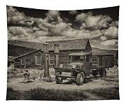 1927 Dodge Braham Bodie Ca Sepia Img 7299 Tapestry