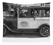 1928 Chevy Half Ton Pick Up In Black And White Tapestry